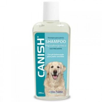 SHAMPOO CANISH HIPOALERGENICO 390 ML