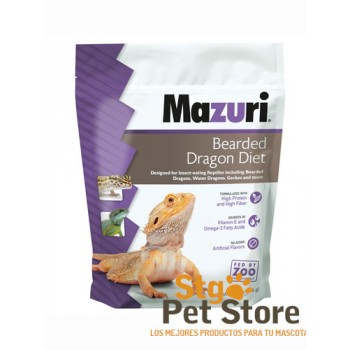 MAZURI BEARDED DRAGON DIET 200 GRS