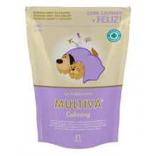 MULTIVA CALMING CAT & SMALL DOG 21 COMPRIMIDOS