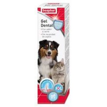 GEL DENTAL PARA PERROS Y GATOS BEAPHAR 100 GRS
