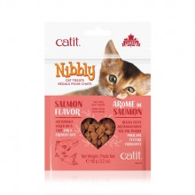 CATIT NIBBLY SNACK SALMON 90 GRS