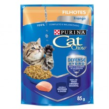 CAT CHOW POUCH GATITOS POLLO 85 GRS