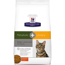 HILLS PRESCRIPTION DIET FELINE METABOLIC + URINARY 2.88 KG