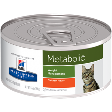 HILLS PRESCRIPTION DIET FELINE METABOLIC LATA 156 GRS