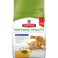 HILLS FELINE YOUTHFUL VITALITY ADULT 7+ 1.36 KG