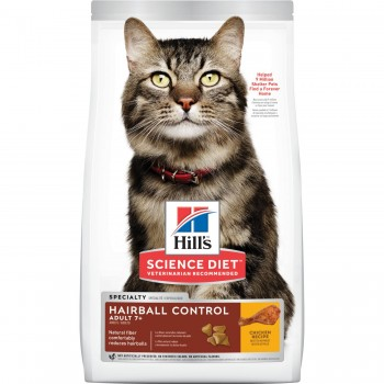 HILLS ADULT 7+ HAIRBALL CONTROL 1.58 KG