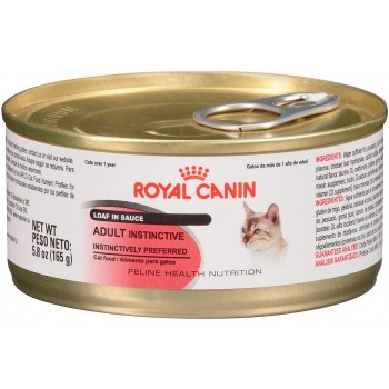 ROYAL CANIN LATA FELINO ADULT INSTINCTIVE 165 GRS