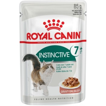 ROYAL CANIN ADULT INSTINCTIVE 7+ POUCH 85 GRS