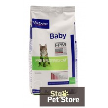 VETERINARY HPM VIRBAC BABY CAT PRE NEUTERED 1.5 KG