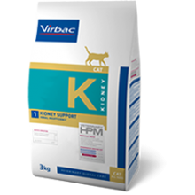 VETERINARY HPM VIRBAC CAT KIDNEY SUPPORT 3 KG