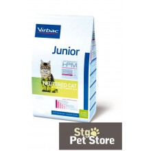 VETERINARY HPM VIRBAC JUNIOR NEUTERED CAT 3 KG