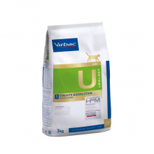 VETERINARY HPM VIRBAC CAT UROLOGY 1 STRUVITE DISSOLUTION 1.5 KG
