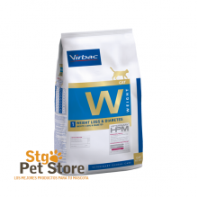 VETERINARY HPM VIRBAC CAT WEIGHT 1 LOSS & DIABETES 1.5 KG