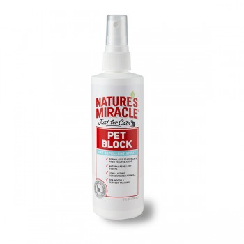 PET BLOCK CAT NATURES MIRACLE - REPELENTE