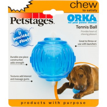 JUGUETE PETSTAGES ORKA TENNIS BALL