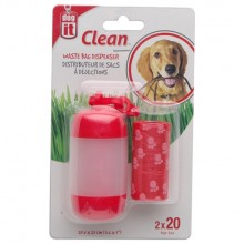 DISPENSADOR DE BOLSAS CLEAN DOGIT DE HAGEN