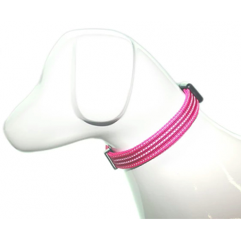COLLAR NYLON REFLECTANTE LARGE MASCAN