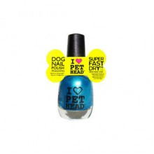 PET HEAD DOG NAIL POLISH COOL TEAL