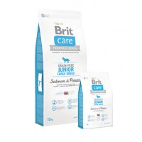 BRIT CARE GRAIN FREE JUNIOR LARGE BREED SALMON 12 KG