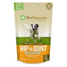 HIP + JOINT PERRO PET NATURALS - 60 MASTICABLES