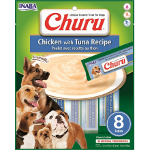 CHURU DOG POLLO CON ATUN 8 UNIDADES