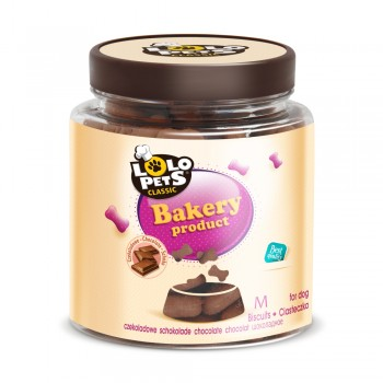 GALLETAS LOLO PETS CHOCOLATE M 950 GRS