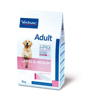 VETERINARY HPM ADULT DOG LARGE & MEDIUM 3 KG