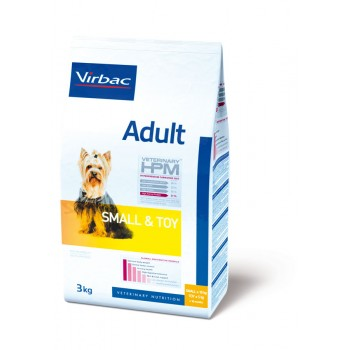 VETERINARY HPM VIRBAC ADULT DOG SMALL & TOY 1.5 KG