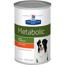 HILLS PRESCRIPTION DIET CANINE METABOLIC LATA 370 GRS