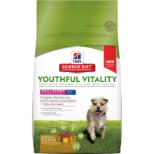 HILLS CANINE SENIOR YOUTHFUL VITALITY SMALL & TOY 1.58 KG