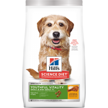 HILLS ADULT 7+ YOUTHFUL VITALITY SMALL & MINI 5.6 KG