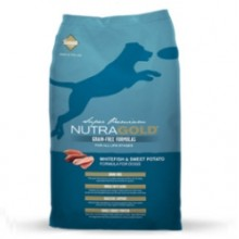 NUTRA GOLD GRAIN FREE WHITEFISH & SWEET POTATO 14 KG