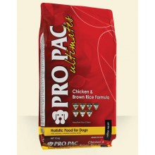 PRO PAC ULTIMATES CHICKEN & BROWN RICE FORMULA 12 KG