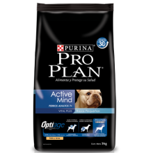 PRO PLAN ACTIVE MIND ADULT 7+ SMALL BREED 3 KG