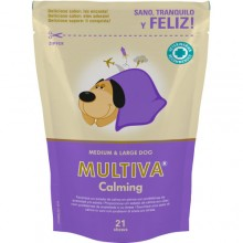 MULTIVA CALMING MEDIUM & LARGE 21 COMPRIMIDOS