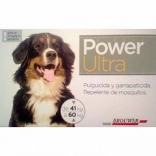 POWER ULTRA DE 41 A 60 KG - PULGUICIDA Y GARRAPATICIDA PARA PERROS