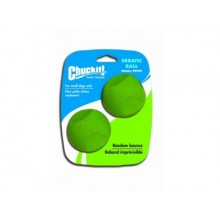PELOTAS CHUCKIT ERRATIC BALL SMALL - 2 UNIDADES