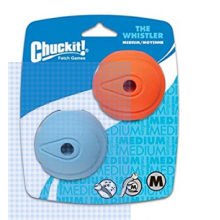PELOTA CHUCKIT THE WHISTLER MEDIUM (SET 2 UNIDADES)