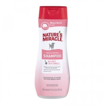 SHAMPOO ODOR CONTROL MELON NATURES MIRACLE 473 ML