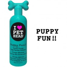 SHAMPOO PET HEAD PUPPY FUN