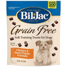 BIL JAC GRAIN FREE SOFT TRAINING TREATS 283 GRS