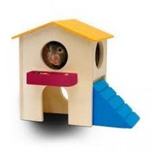 CASA SMALL PARA HAMSTER LIVING WORLD