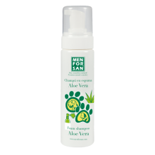 SHAMPOO EN ESPUMA ALOE VERA MEN FOR SAN 200 ML