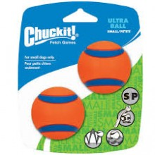 PELOTAS CHUCKIT ULTRA BALL SMALL - 2 UNIDADES