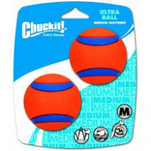 PELOTAS CHUCKIT ULTRA BALL MEDIUM (SET DE DOS PELOTAS)