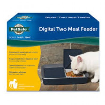 COMEDERO DIGITAL TWO MEAL FEEDER