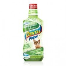 DENTAL FRESH PARA LA HIGIENE BUCAL GATOS 237 ML