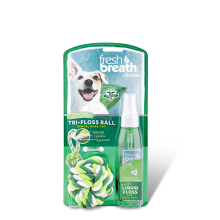 JUGUETE FRESH BREATH TRI-FLOSS BALL