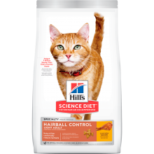 HILLS FELINE HAIRBALL CONTROL LIGHT 3,17 KG