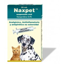 NAXPET SUSPENSION ORAL 20 ML